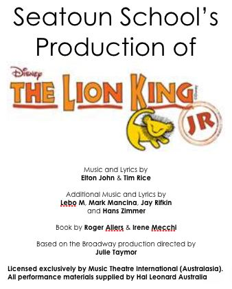 The Lion King Page